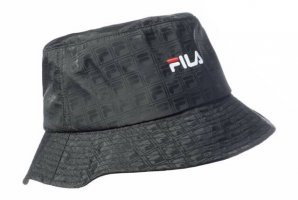 Fila Bucket Hat black polyester