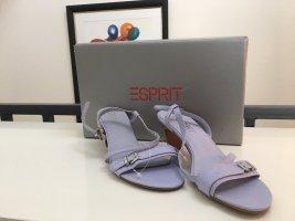 NEU Fliederfarbene Esprit Sandaletten in Leder