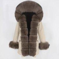 Deluxe Furs Giacca di pelliccia multicolore Pelliccia