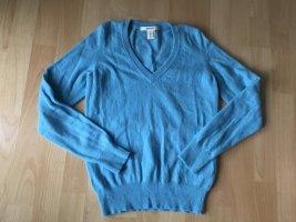 NEU Gant Cashmere kaschmir pullover hellblau blau 34 XS 36 Pulli