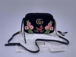 Neu GG Marmont Samt Tasche Gucci