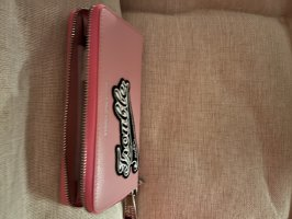 Neu GGL Leder Portemonnaie Rosa Größe L
