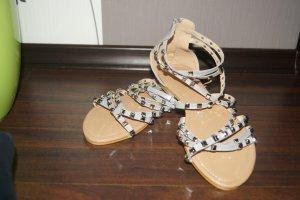 unbekannte Dianette Sandals grey-light brown