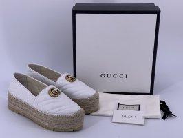 Gucci Espadryle biały