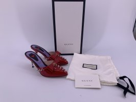 Neu Gucci Lackleder Pumps Pantoletten Gr-38