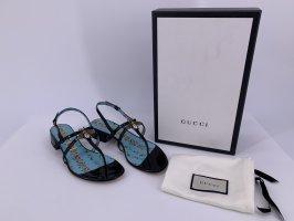 Neu Gucci Lackleder Sandalen Große -35
