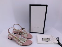Neu Gucci Lackleder Sandalen Große -40