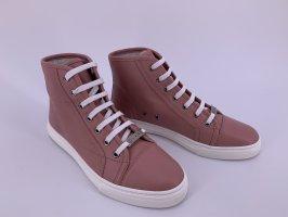 Neu Gucci Leder Sneakers Gr-37,5