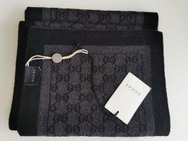*Neu* Gucci Schal mit Etikett schwarz anthrazit