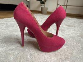 *neu* high heels pink