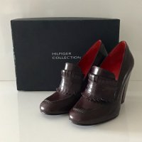 NEU HILFIGER COLLECTION PUMPS GR. 37 BRAUN