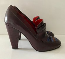 NEU HILFIGER COLLECTION PUMPS GR. 38 BRAUN