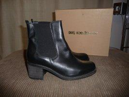 NEU Kauf Dich Glücklich Schuhe FLY Yoli (1460)  schwarz Gr. 40 CHELSEA BOOTS