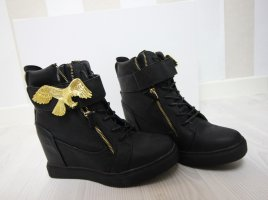 NEU Keilabsatz Boots Wedges Sneaker Adler 40