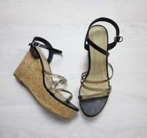 Truffle Wedge Sandals black