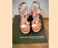 Neu! Kennel & Schmenger Wedges, bronze Gr. 39