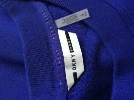 DKNY Vestido de tela de sudadera multicolor Algodón