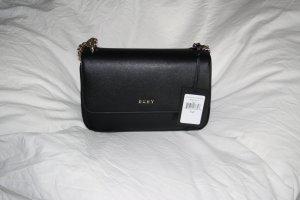 NEU kleine Tasche Handtasche schwarz gold DKNY Luxus Marke