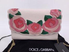 Neu Leder Dolce & Gabbana Clutch Tasche