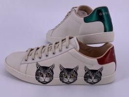 Neu Leder Gucci Sneakers ACE Große -40