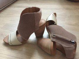 Neu Leder Sandaletten Gr.40/41