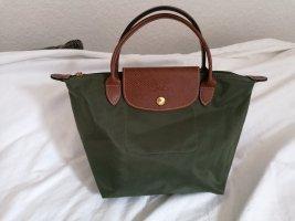 Neu Longchamp Le Pliage modele depose S waldgrün grün original