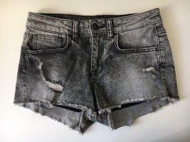 *NEU* LTB destroyed Jeans Short grau |Gr. XS/S