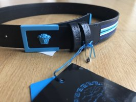 Versace Waist Belt black-blue