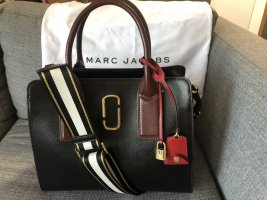 NEU Marc Jacobs Damen Tasche Leder (Large) Big Shot Saffiano Original NP €450
