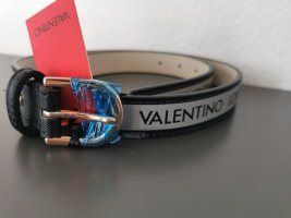 *Neu* Mario Valentino Gürtel mit Etikett schwarz grau