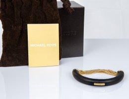 Michael Kors Mouwband zwart-goud