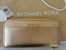 *Neu* Michael Kors Geldbörse gold mit Etikett NP 155€