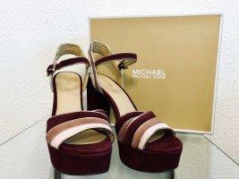 Michael Kors Plateauzool sandalen veelkleurig Leer