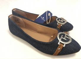 Tom Tailor Ballerinas with Toecap brown-dark blue