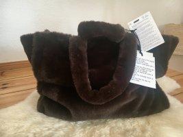 Stand Sac fourre-tout brun-brun foncé tissu mixte