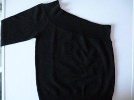 Neu mit Etikett: MANGO Baumwollstrick-Top, asymmetrisch, Gr. 36