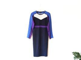 Neu mit Etikett Pinko Kleid Gr. M 38 40 Strickkleid blau lila weiß schwarz
