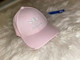 Adidas Sombrero de tela color rosa dorado