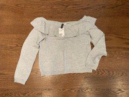 Neu mit Etikett: süßer Off Shoulder Pullover Sweater M 38