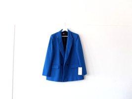 Neu mit Etikett Zara Blazer Gr. L 40 blau boyfriend royalblau kobaltblau