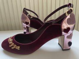"""Neu mit Karton!! Original Dolce & Gabbana Pumps """"L'Amore è Bellezza"""""""