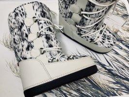 Moncler Sneeuwlaarzen wolwit-zwart
