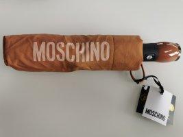 Moschino Parasol składany cognac
