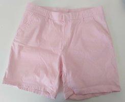 H&M Krótkie szorty jasny różowy