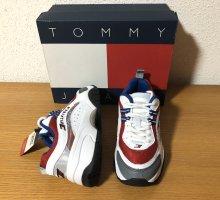 Neu! Nagelneu! Tommy Jeans Hilfiger Sneaker  Plateau Sport Schuhe Gr.36,5/37