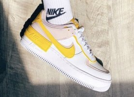NEU Nike Air Force Shadow Speed Yellow soldout