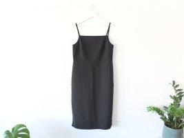 Neu ohne Etikett COS Kleid Gr. 40 schwarz Spaghettiträger Wolle