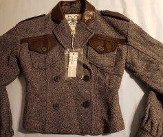 NEU Original DIESEL ITALY Wolle Warm Jacke Blouson Kurzjacke sehr schön!