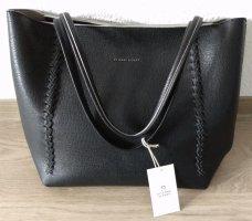 """[NEU & ORIGINAL] ETIENNE AIGNER Handtasche """"STELLA LOTE"""" # 100% Genuine Leder # schwarz"""