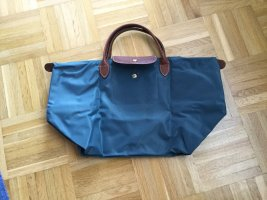 Neu & Original Longchamp Le Pliage Nylon entenblau